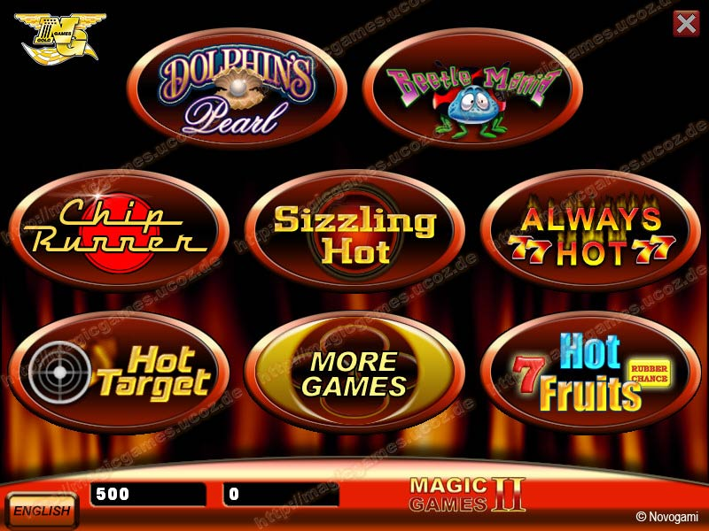 magic games novoline casino