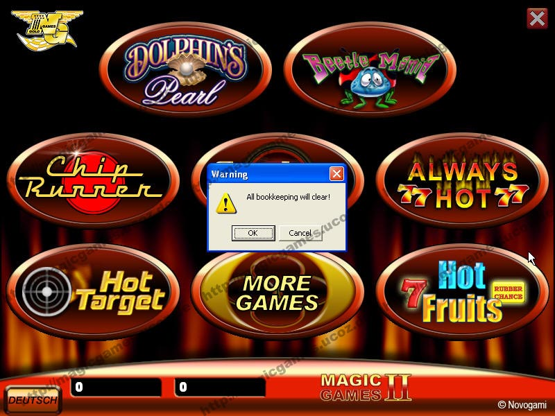 magic games novoline software